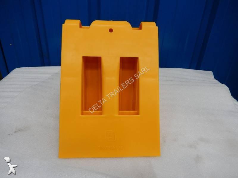 Ver as fotos Peças pesados nc Cale de roue plastique jaune
