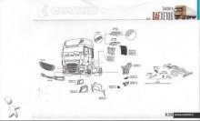 DAF LF, CF, XF et gamme euro 6 LKW Ersatzteile