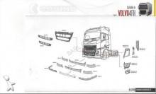 pièces détachées PL carrosserie Volvo