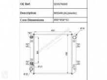 Nissan Radiateur de refroidissement pour camion