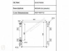 Nissan Radiateur de refroidissement du moteur pour camion