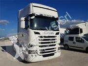 cap tractor Scania R490 EURO 6 , Bianco