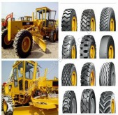 Caterpillar 140G 140H Motor Grader Tires /New Tyres for Wheel Loader Grader ,Retreaded tires equipment spare parts