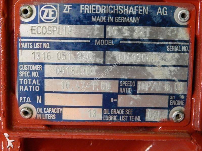 Hidráulico ZF usada