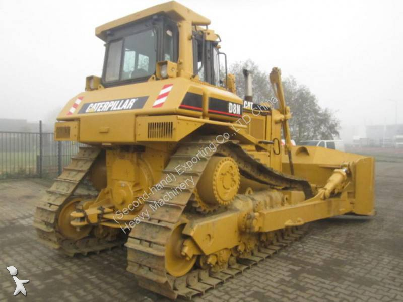 bulldozer caterpillar d8n used cat d8n crawler bulldozer with winch occasion n 1086992. Black Bedroom Furniture Sets. Home Design Ideas