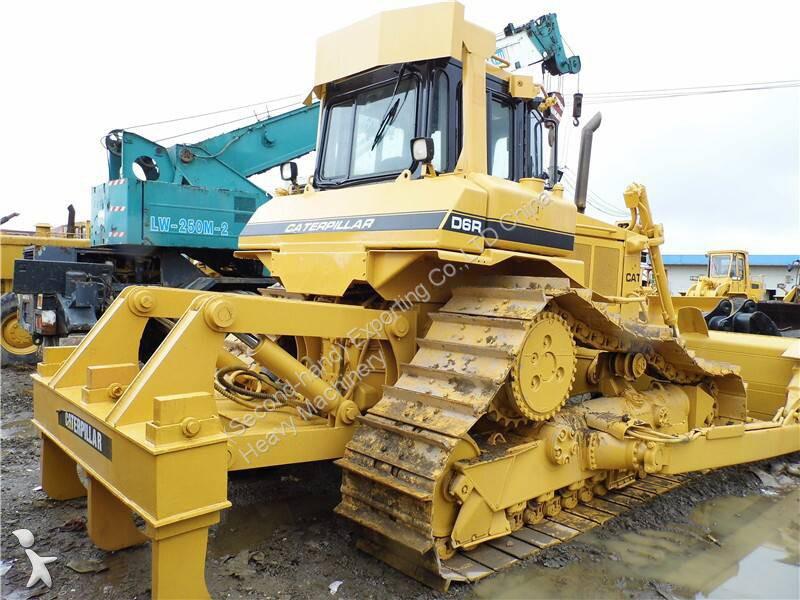 bulldozer caterpillar d6r used cat d6r dozer caterpillar d6r bulldozer occasion n 1091881. Black Bedroom Furniture Sets. Home Design Ideas