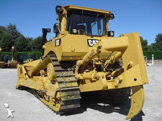 bulldozer caterpillar d8t used cat d8t bulldozer repaint with ripper occasion n 1106465. Black Bedroom Furniture Sets. Home Design Ideas