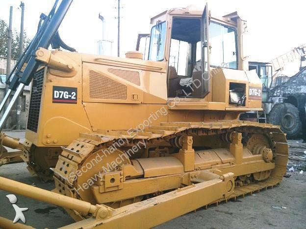 bulldozer caterpillar d7g used cat d7g bulldozer ripper occasion n 1164704. Black Bedroom Furniture Sets. Home Design Ideas