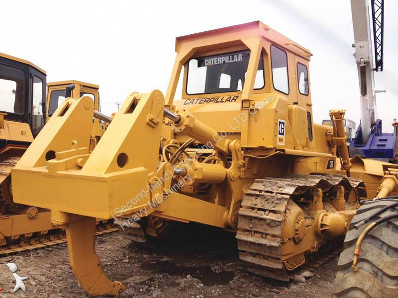 bulldozer caterpillar d8k used cat d8k bulldozer with ripper occasion n 1191186. Black Bedroom Furniture Sets. Home Design Ideas
