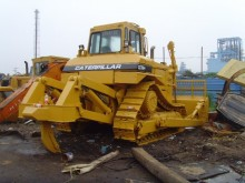 bulldozer Caterpillar D7H Used CAT D7H Bulldozer With Single Teeth Ripper