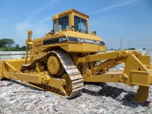 bulldozer Caterpillar D7H Used Bulldozer CAT D7H Dozer With Ripper