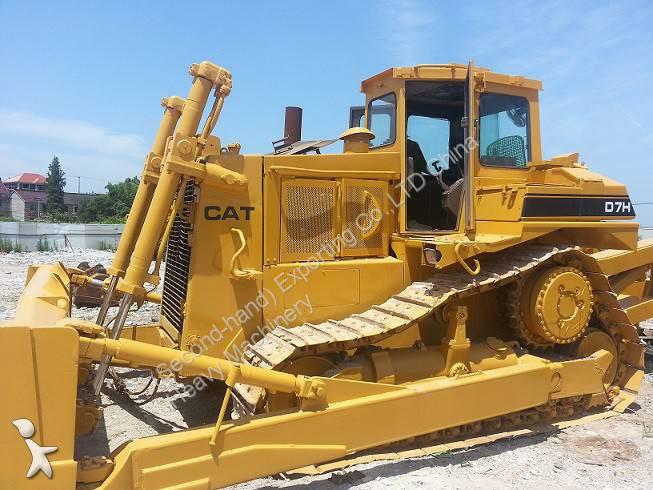 bulldozer caterpillar d7h used cat d7h bulldozer track dozer occasion n 1245556. Black Bedroom Furniture Sets. Home Design Ideas