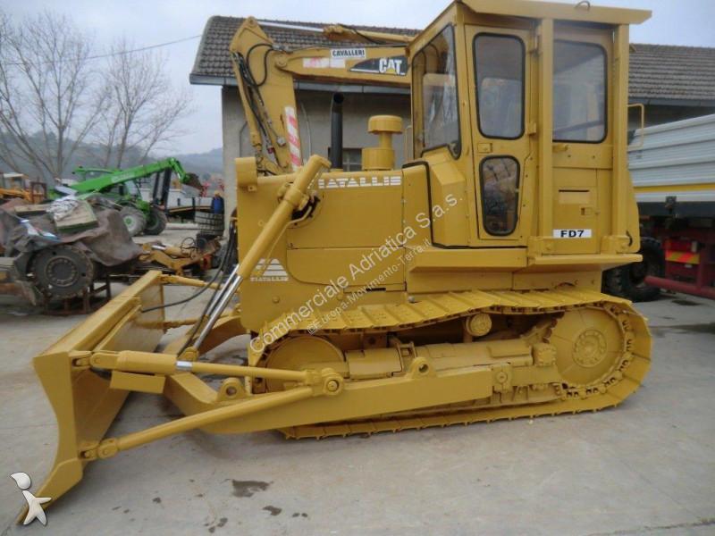 Fiat Allis Dozer Parts : Used fiat bulldozer allis fd n°