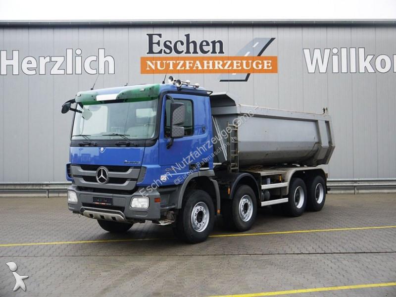 Mercedes 4144 K, 8x4, 17 m³ Muldenkipper, Blatt Dumper