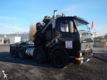 tombereau Volvo FH84T42T 8X4 with Fassi 80T/M Crane