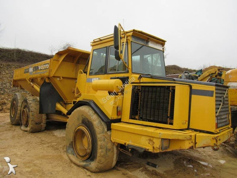 Tombereau Volvo A25C 6X6