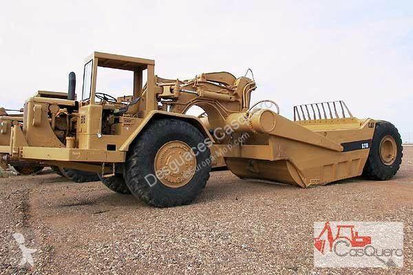 View images Caterpillar 631 B wheel tractor scraper - scraper