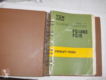 TCM FG14N3-FG15 PART MANUAL