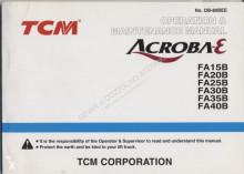 TCM 15-20-25B Operation Manual