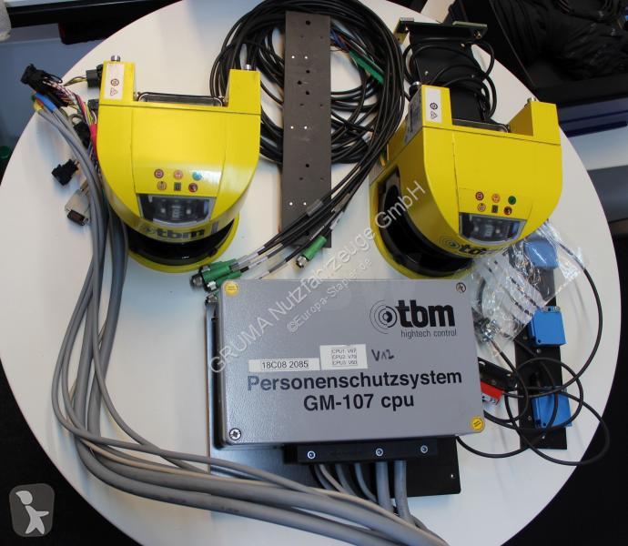 View images Nc TBM Personenschutzsystem GM-107 handling part