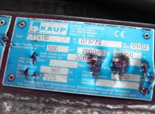 Vedeţi fotografiile Piese stivuitoare Kaup 1,5T411D