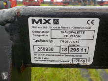 View images MX TR2500 pallet forks neuf handling part