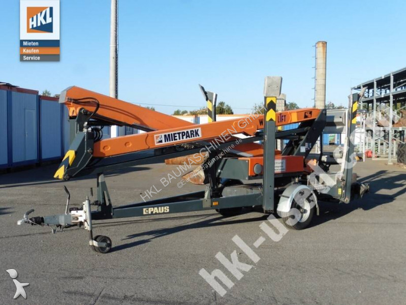 Paus GT 18 A heavy forklift