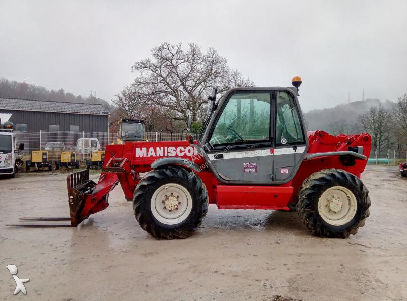 Manitou SCP1233MT heavy forklift