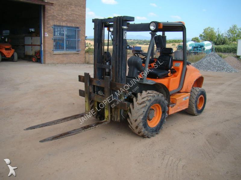 Ausa CH200X4 heavy forklift