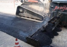 MG asphalt paving equipment