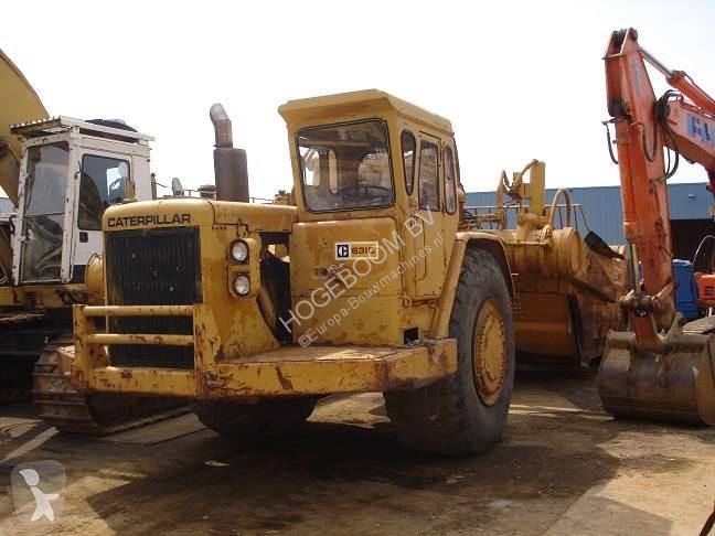 Bekijk foto's Wegenbouw Caterpillar 631 C