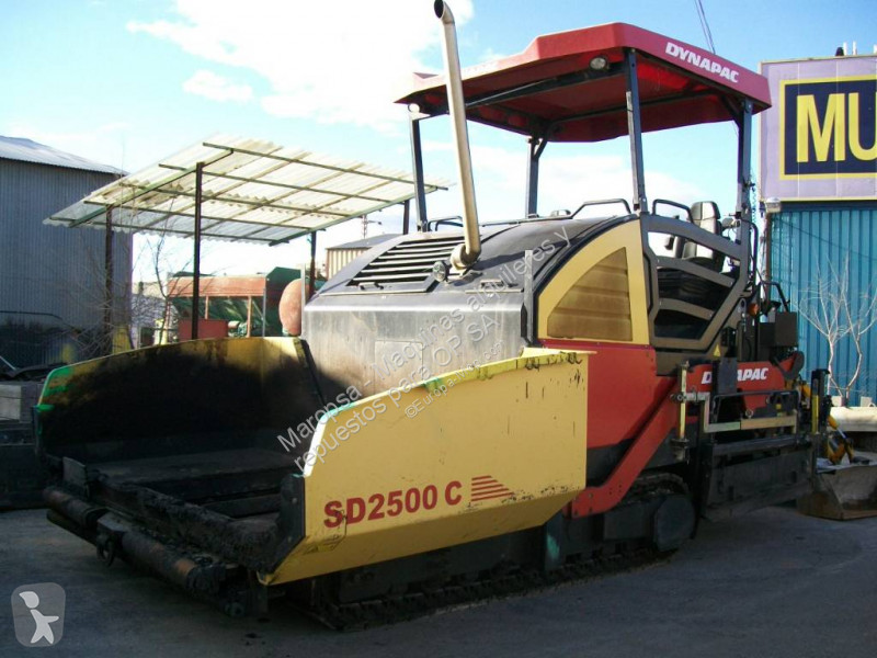 Dynapac SD 2500 C road construction equipment