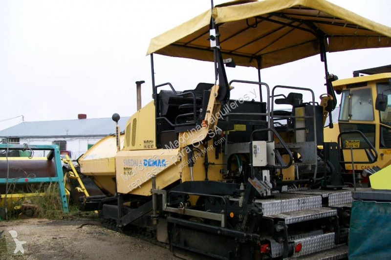 View images Demag DF 115 C road construction equipment