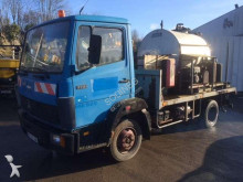 Mercedes 709 Plateau bouille RINCHEVAL 2000 Litres road construction equipment