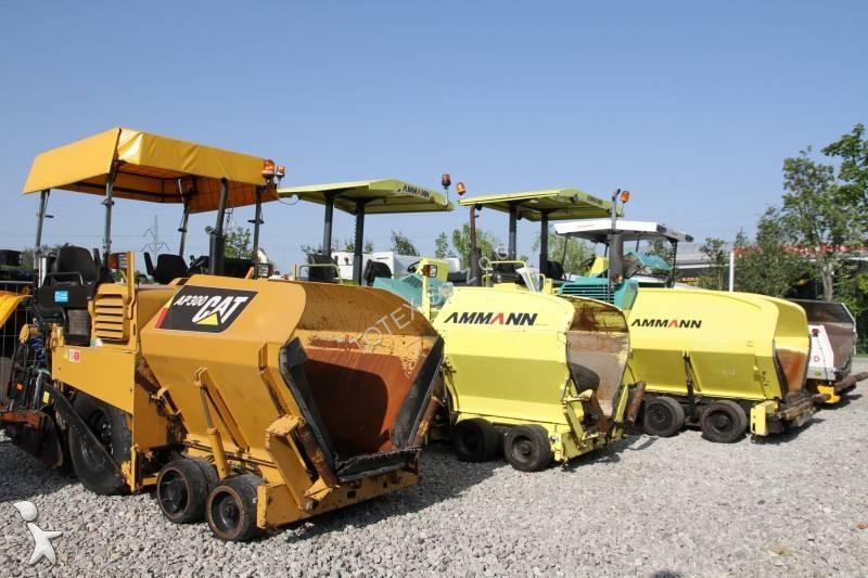 Ammann ASPHALT PAVER MANY MODELS, MANY UNITS! road construction equipment