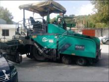 obras de carretera pavimentadora usada