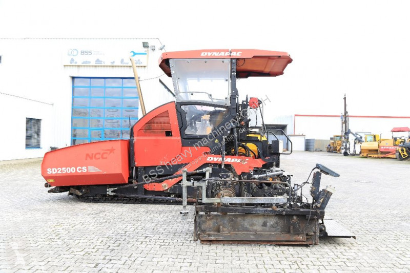 Dynapac SD 2500 CS * 8.80 METER * road construction equipment