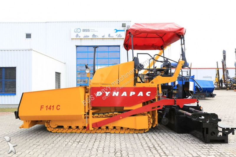 Travaux routiers Dynapac F 141C * 8.0 Meter *