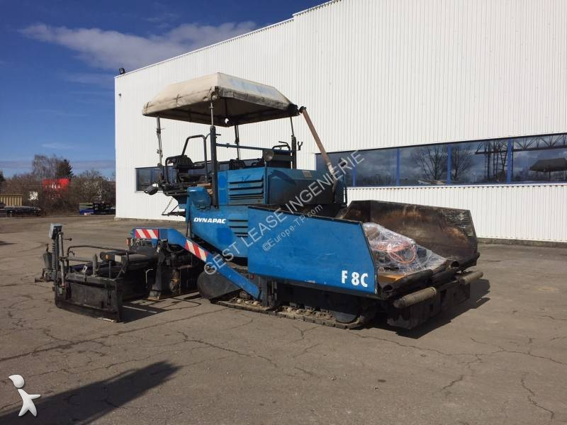 Travaux routiers Dynapac F8C