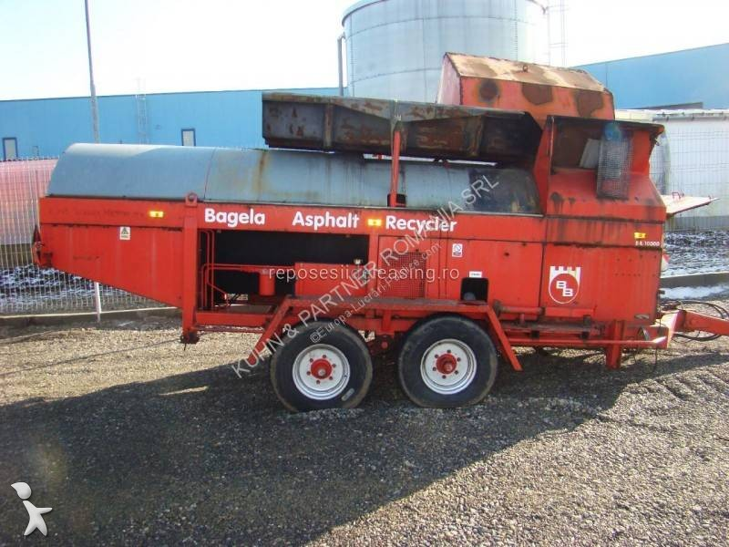 Echipamente pentru lucrari rutiere Bagela BA 10000