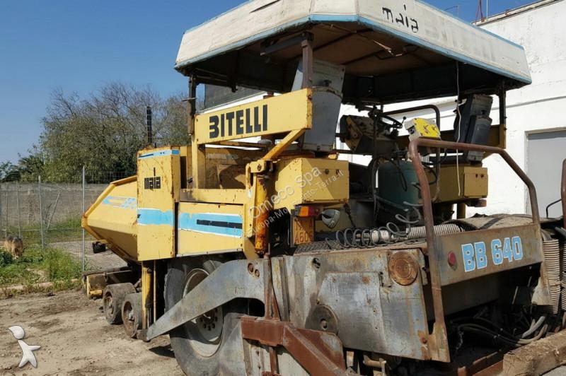 Lavori stradali Bitelli BB640