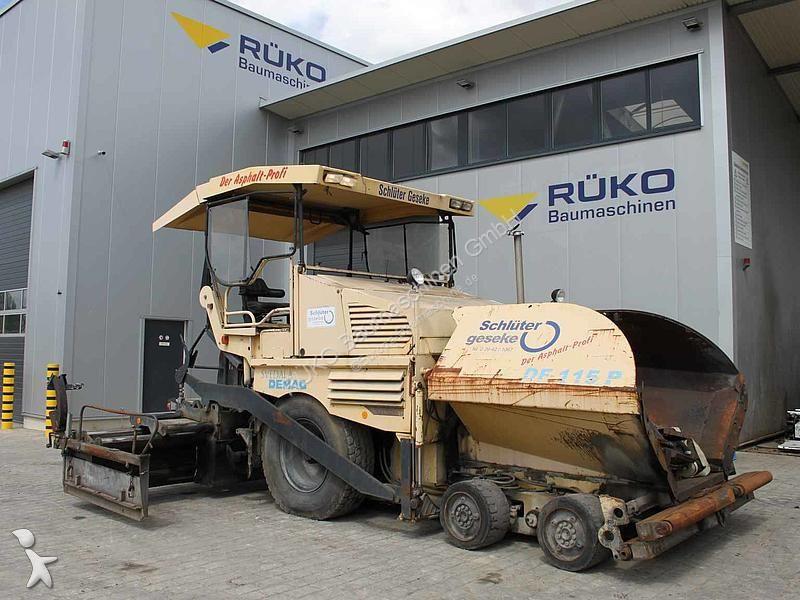 Demag DF 115 P road construction equipment