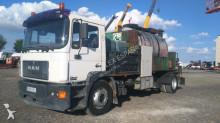 MAN sprayer road construction equipment