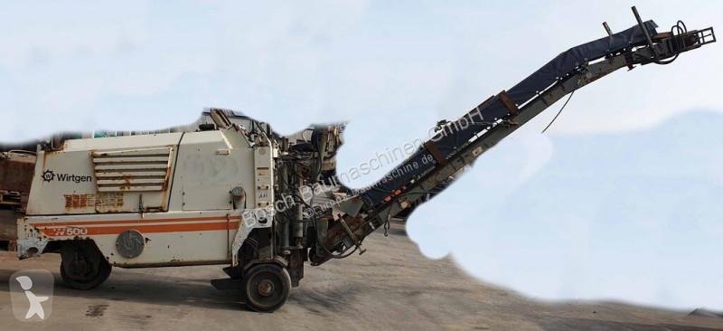 Vedeţi fotografiile Echipamente pentru lucrari rutiere Wirtgen W500