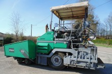 lavori stradali Vogele Super 1203-1
