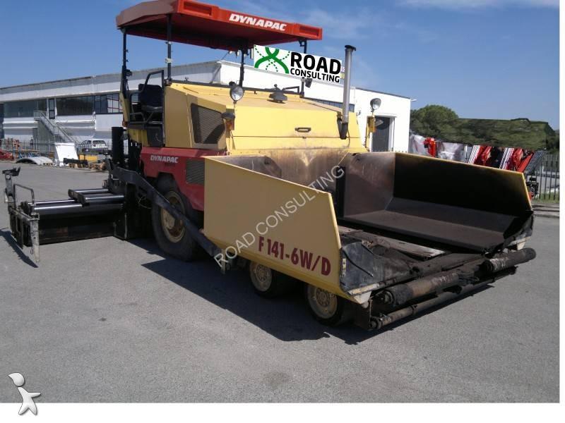 Echipamente pentru lucrari rutiere Dynapac F141W-6WD
