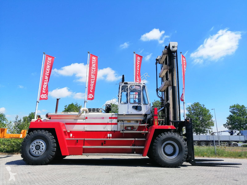 Heftruck extra zware lasten Svetruck 52120-60 4 Whl Counterbalanced Forklift >10t