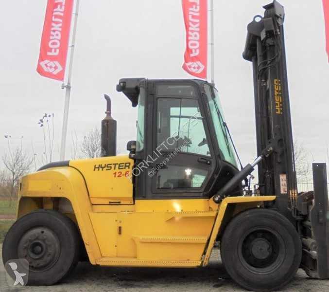 Hyster H12XM-6 4 Whl Counterbalanced Forklift >10t heavy forklift