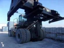 Hyster loaded containers handling heavy forklift