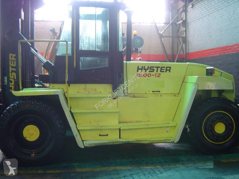Bilder ansehen Hyster H16.00XM-12 4 Whl Counterbalanced Forklift >10t Schwerlast-Gabelstapler